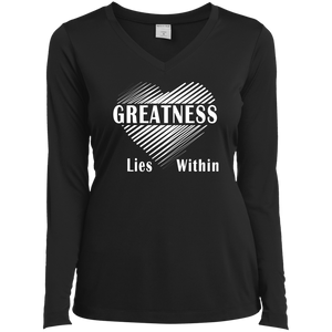 Favorite Classy Long Sleeve V-Neck Greatness T-Shirt