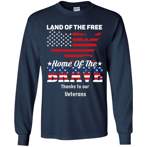 Honoring Our Veterans LS Ultra Cotton T-Shirt
