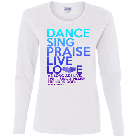 Dance Sing Ladies T-Shirt