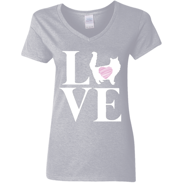I love my Cat V-Neck T-Shirt