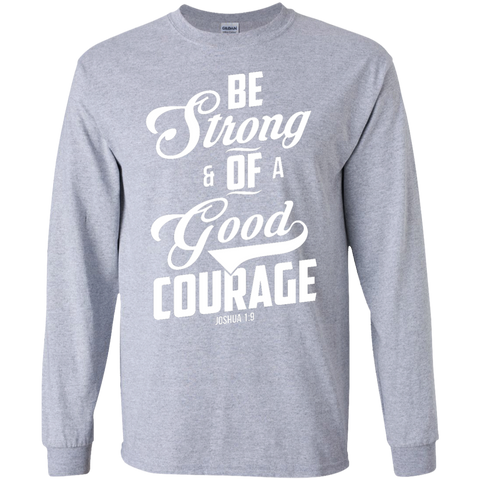 Courage Long Sleeve Unisex Ultra Cotton