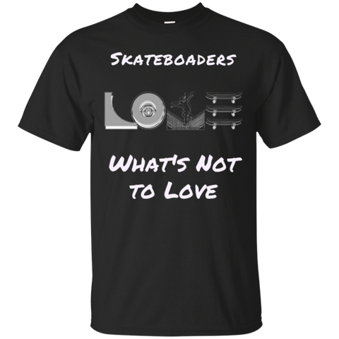 Skateboarding Cotton T-Shirt What's Not to Love