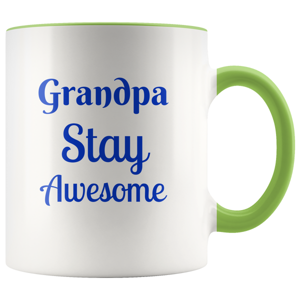 Grandpa Stay Awesome color