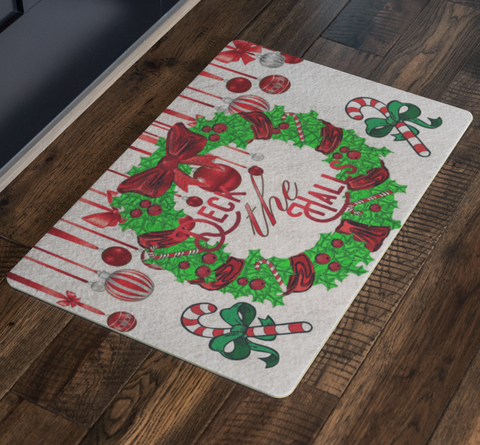 Welcome Christmas Doormat