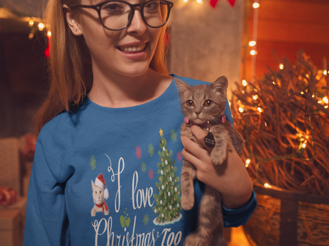 Cats Love Christmas Too
