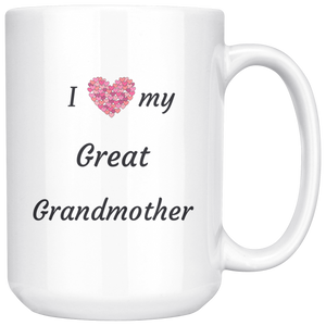 Love My Great-Grandmother