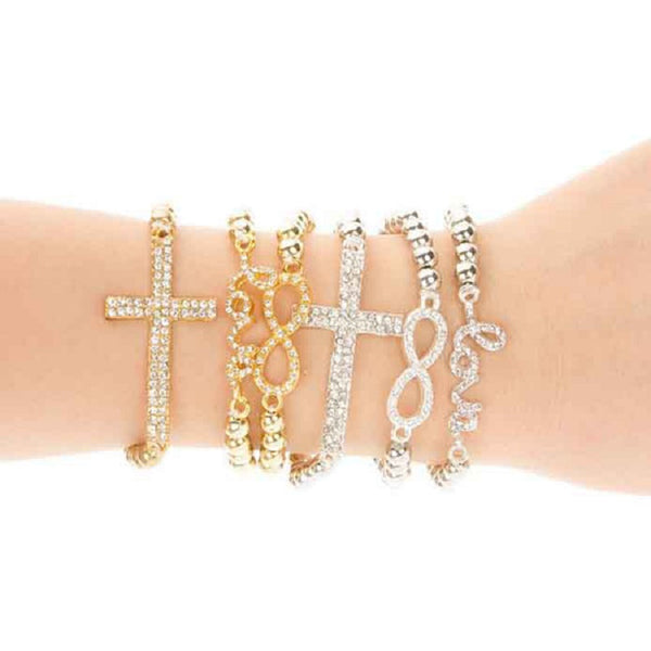 Sistergirls4Life - Infinity Charm Collection Bracelet - SisterGirls4Life.com