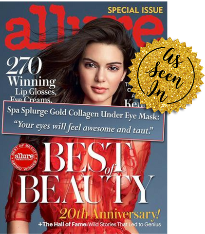 Gold Collagen Eye Masks as Seen in Allure Magazine