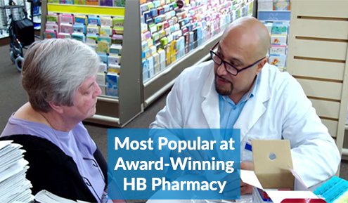 Most Popular Gaspars Best Supplements In Store At HB Pharmacy In North Arlington, NJ