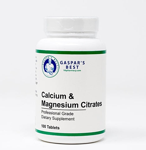 Gaspar's Best Calcium and Magnesium Citrates