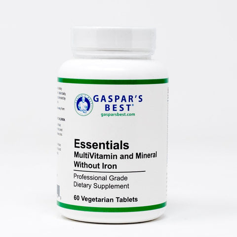Gaspar's Best Essentials MultiVitamin and Mineral - No Iron