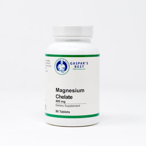 Gaspar's Best Magnesium Chelate 400mg