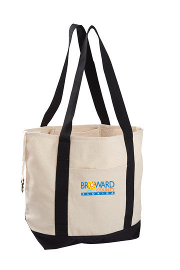 Econscious 12 oz. Organic Cotton Canvas Boat Tote Bag