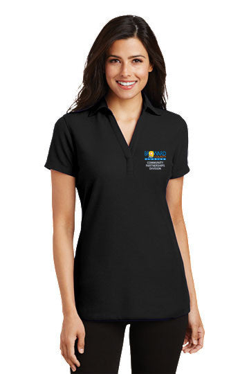 Silk Touch Y-Neck Polo - Community Partnerships Division