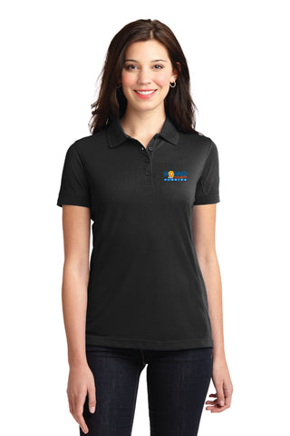 Ladies Silk Touch™ Y-Neck Polo