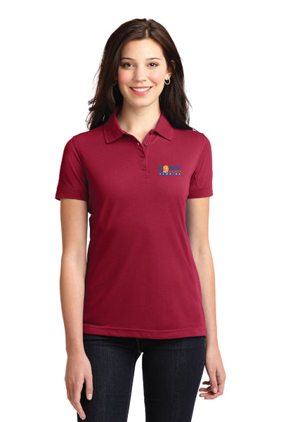 Ladies 5-in-1 Performance Pique Polo
