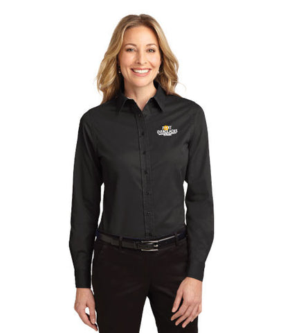 Port Authority® Ladies Long Sleeve Easy Care Shirt - Port Everglades