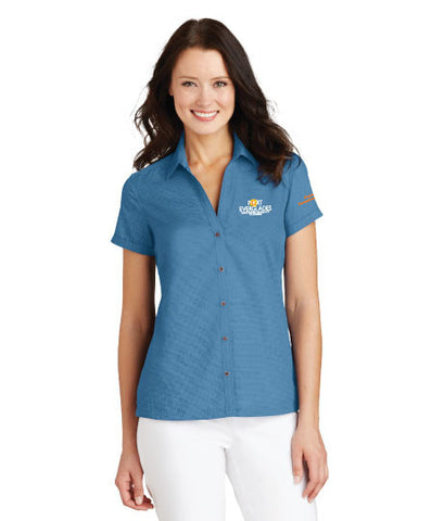 Port Authority® Ladies Textured Camp Shirt - Port Everglades
