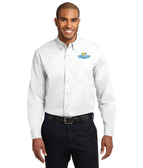 Port Authority® Mens Long Sleeve Easy Care Shirt - Port Everglades