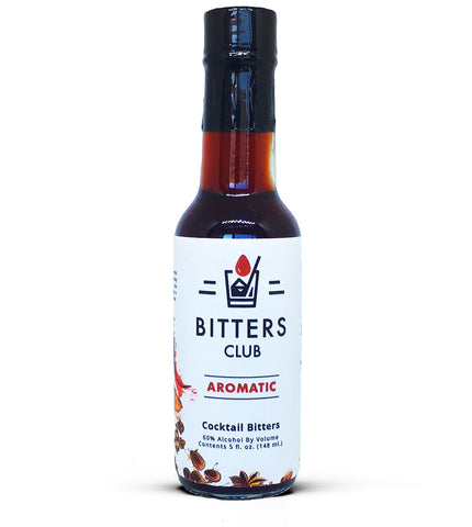 Natural Aromatic Cocktail Bitters, 5 fl. oz. - The Bitters Club