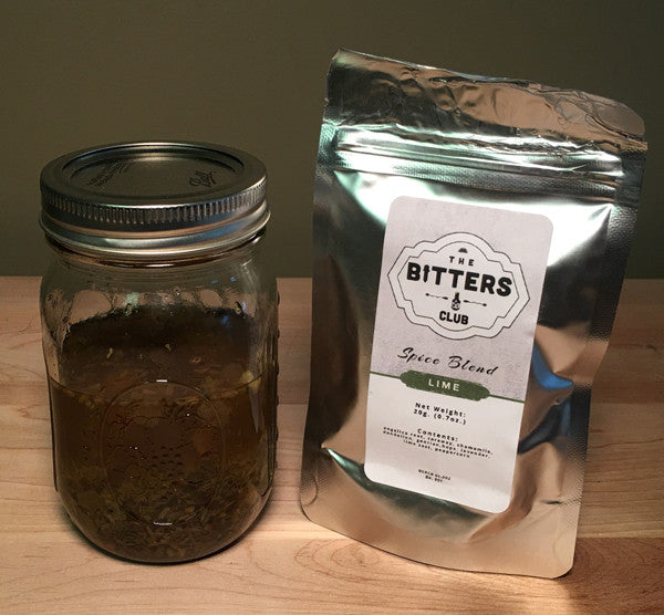 Lime Bitters Spice Blend - The Bitters Club