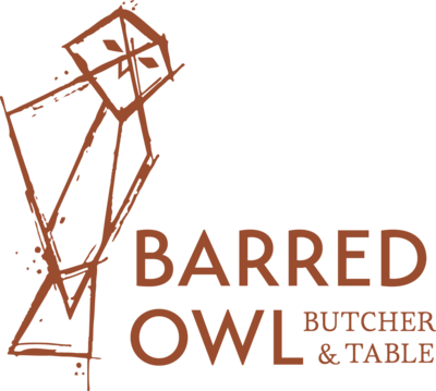 Barred Owl Butcher & Table