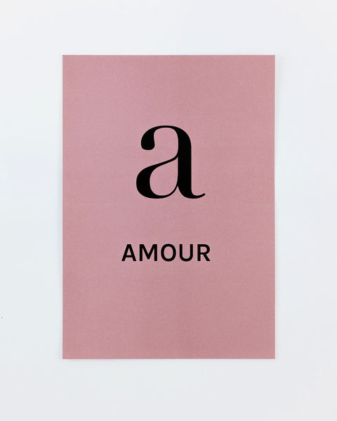 A comme Amour | Small print