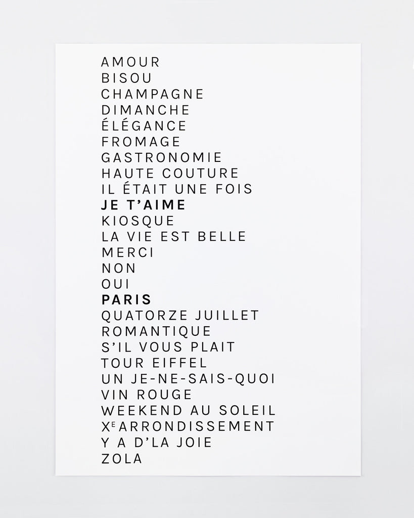 The French ABCs | Large Print