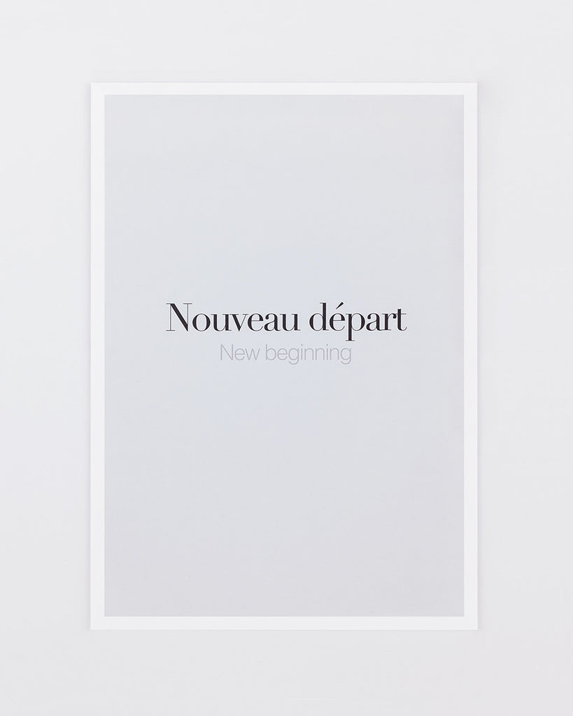French Words | Medium print