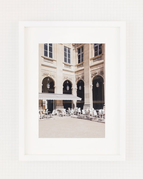 Paris En Terrasse • Art Print