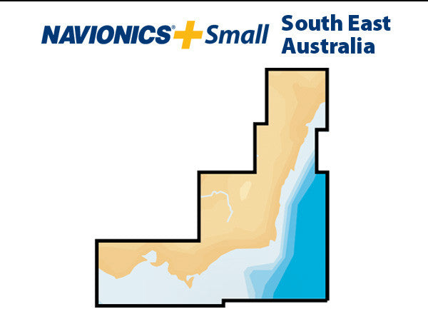 Navionics Plus Small South East Australia