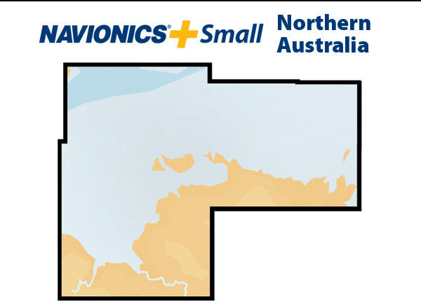 Navionics Plus Small Northern Australia