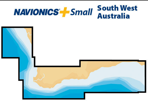 Navionics Plus Small South West Australia