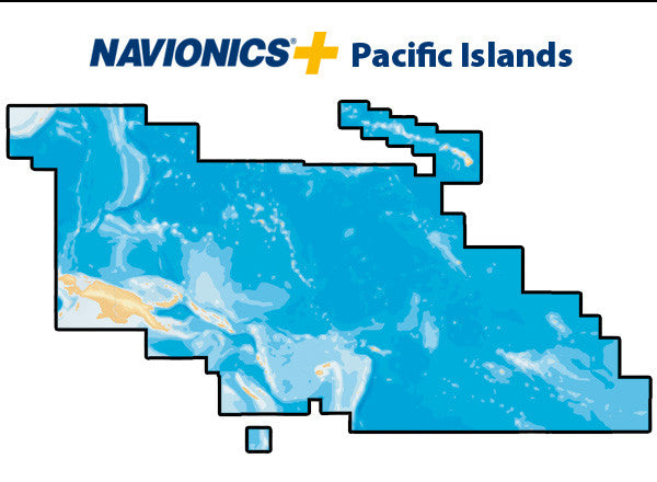 Navionics Plus Pacific Islands