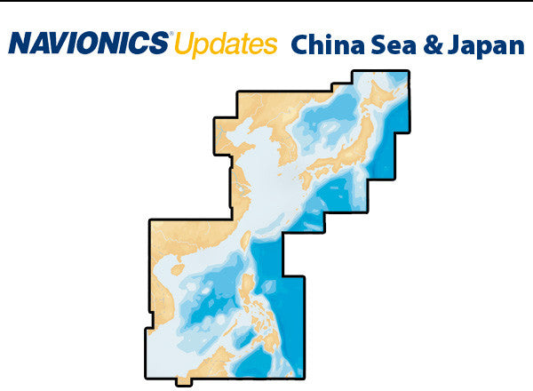 Navionics Updates China Sea and Japan