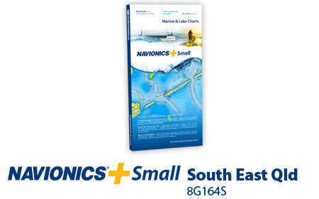 Navionics Plus Small South East Queensland