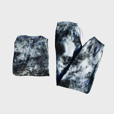 Grey/Black Tie Dye Set