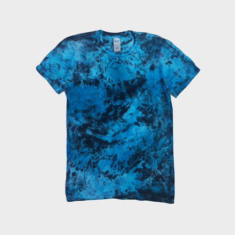 Blue/Black Tie Dye T-shirt