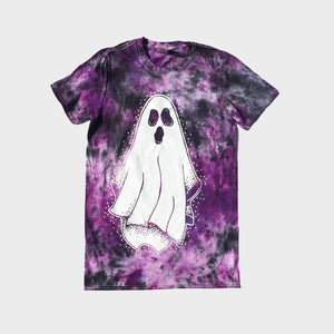 Ghost Purple/Black Tie Dye T-shirt