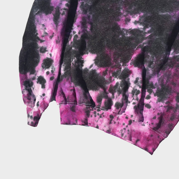 Purple/Black Tie Dye Sweatshirt