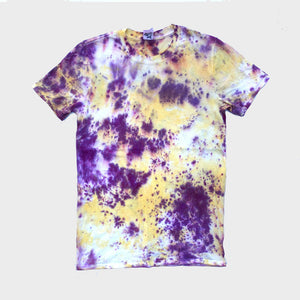 Purple/Yellow Tie Dye T-shirt