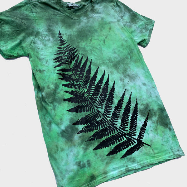 Fern Mixed Green Tie Dye T-shirt
