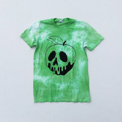 Poison Apple Green Tie Dye T-shirt