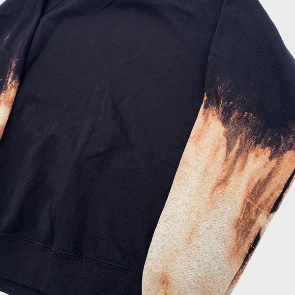 Acid Burned Tie Dye Sweatshirt (Sleeves)