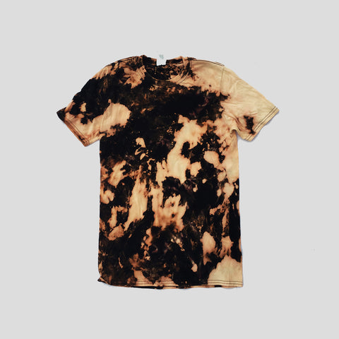 Plain Acid Burned Tie Dye T-shirt