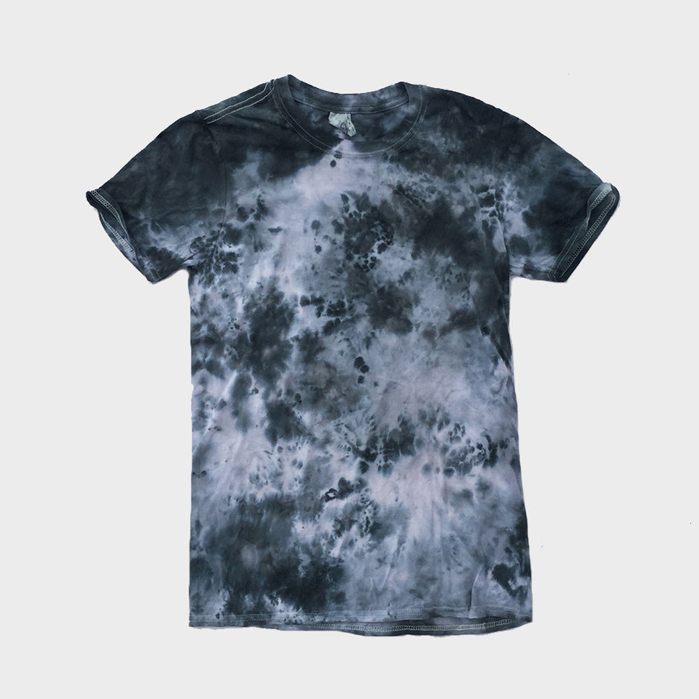 Plain Grey Tie Dye T-shirt