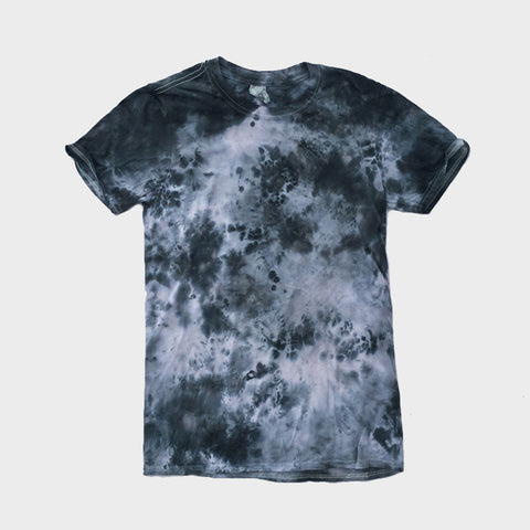 Grey/Black Tie Dye T-shirt