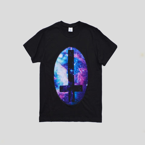Cosmic Cross Patch T-shirt