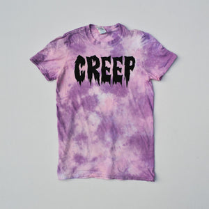 Creep Pink/Purple Tie Dye T-shirt