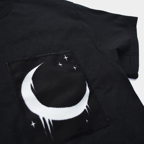 Crescent Moon Patch T-shirt